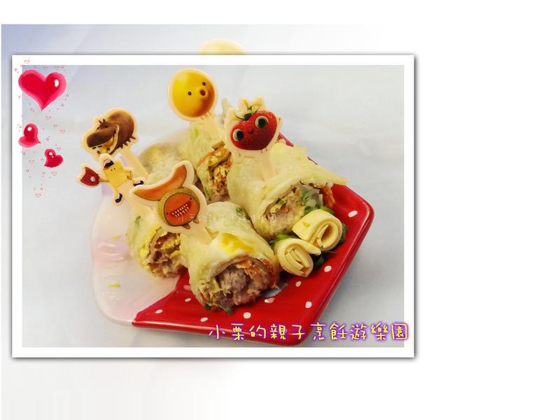 【芝司樂週末大挑戰】鮪魚起司蛋餅