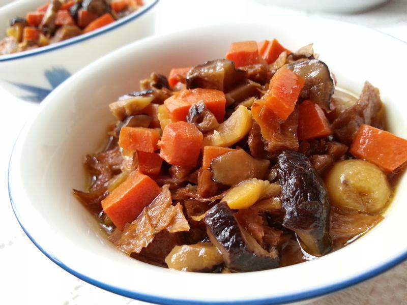 醃瓜香菇素燥