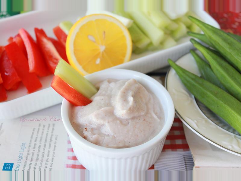 蔬菜棒沾醬(無乳製品及美乃滋)