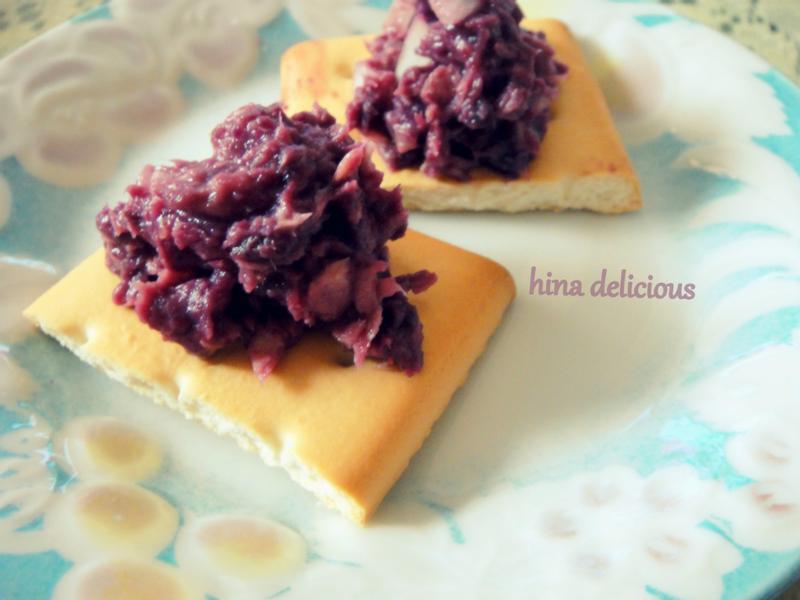 純天然系  紫心鮪魚沙拉