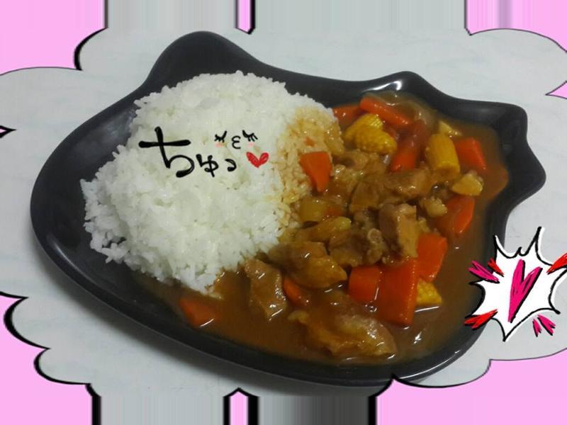 日式咖哩豬肉飯(甜味)