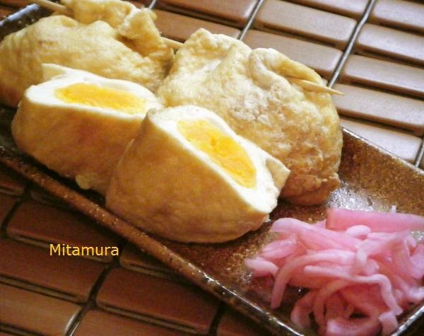 日式稻荷豆皮蛋