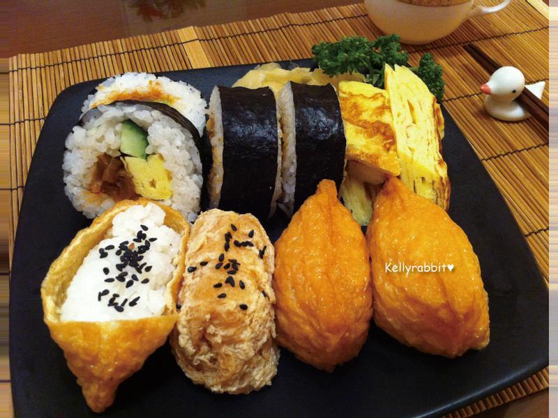 基礎壽司拼盤