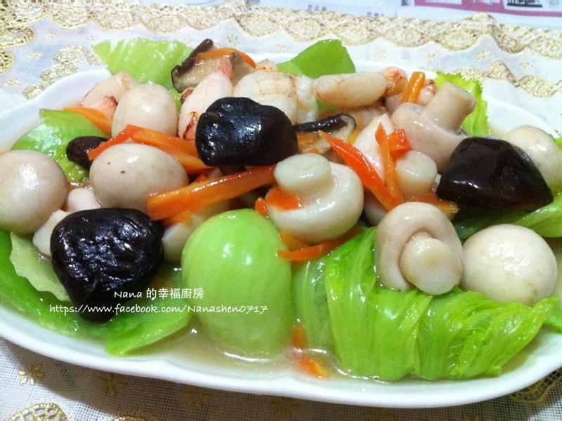 蟹足刈菜焿