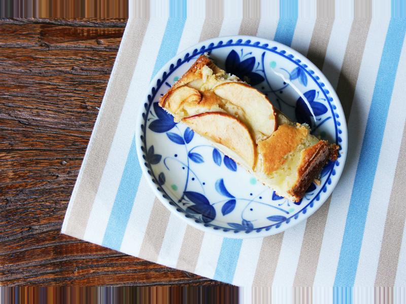 "/ Cara Dessert"" 德式蘋果溫蛋糕的傳統美味。Apfelkuchen。"
