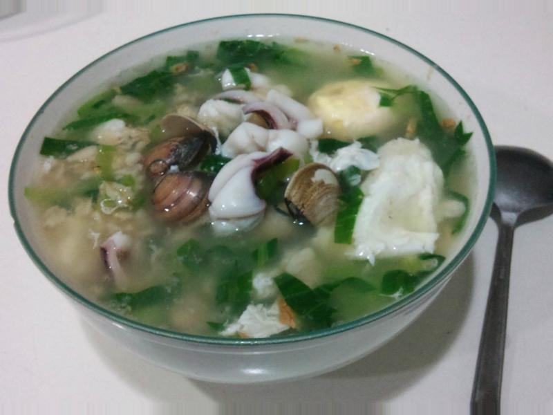 海鮮燕麥粥 *有飽足感的健康減肥餐*