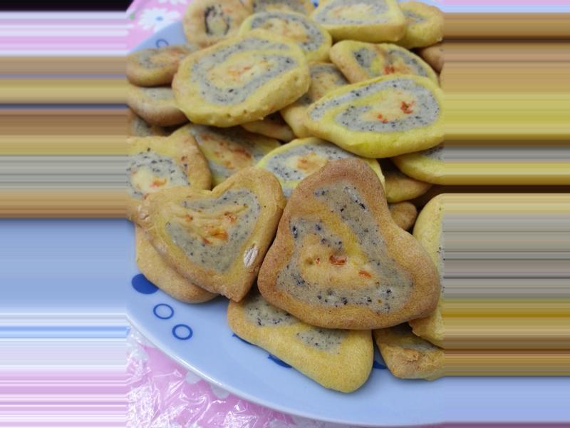 芝麻牛奶餅乾-兩光小烤箱版