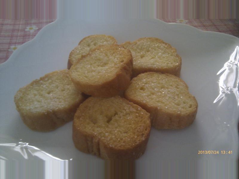 烤脆糖法式麵包