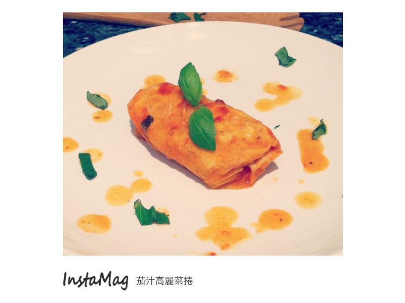 低卡茄汁高麗菜捲(免用牙籤捲法)