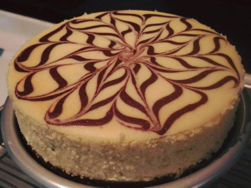 檸檬重乳酪蛋糕(八吋)