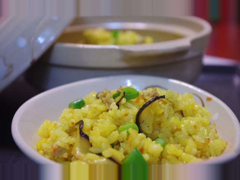 咖哩炊飯-五色飯電子鍋版