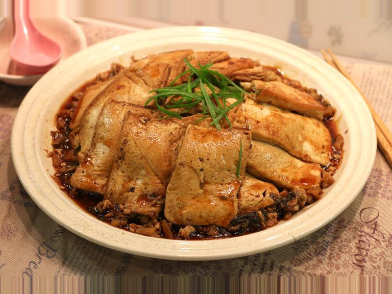 梅菜扣豆腐