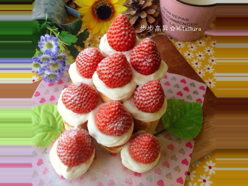 草莓可麗塔(步步高昇)