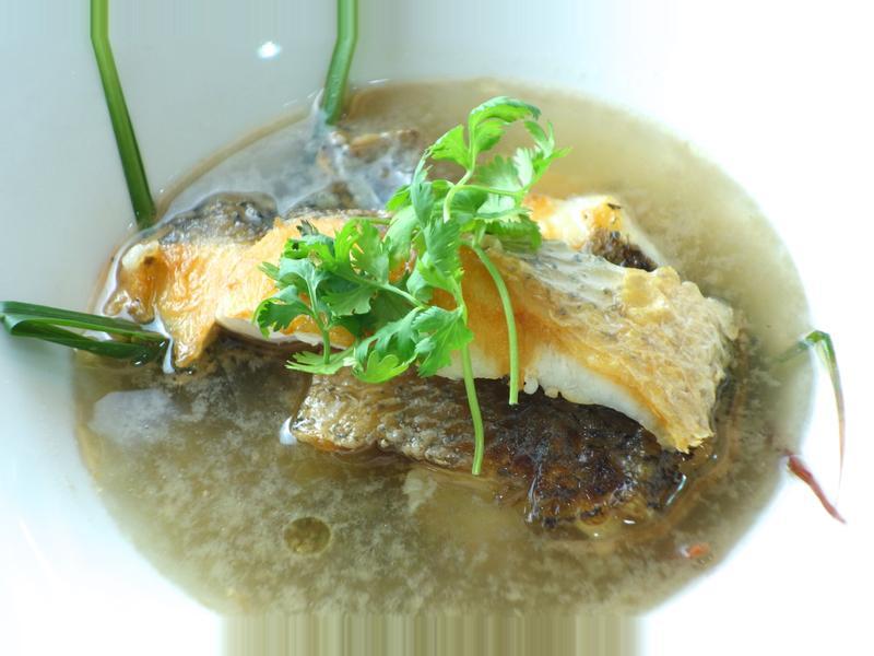 嫩煮鱸魚湯  示範影音