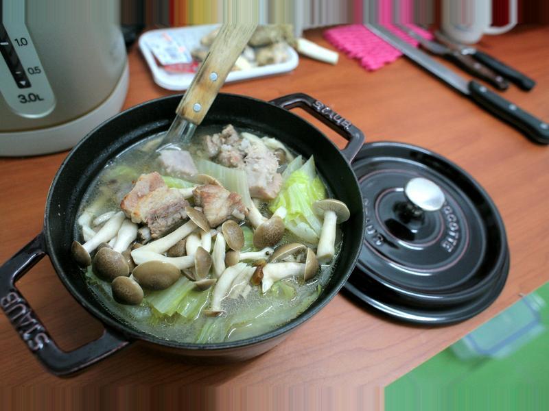 [小湯的美味食譜] 經典佛跳牆 Staub, Le Creuset鑄鐵鍋實做