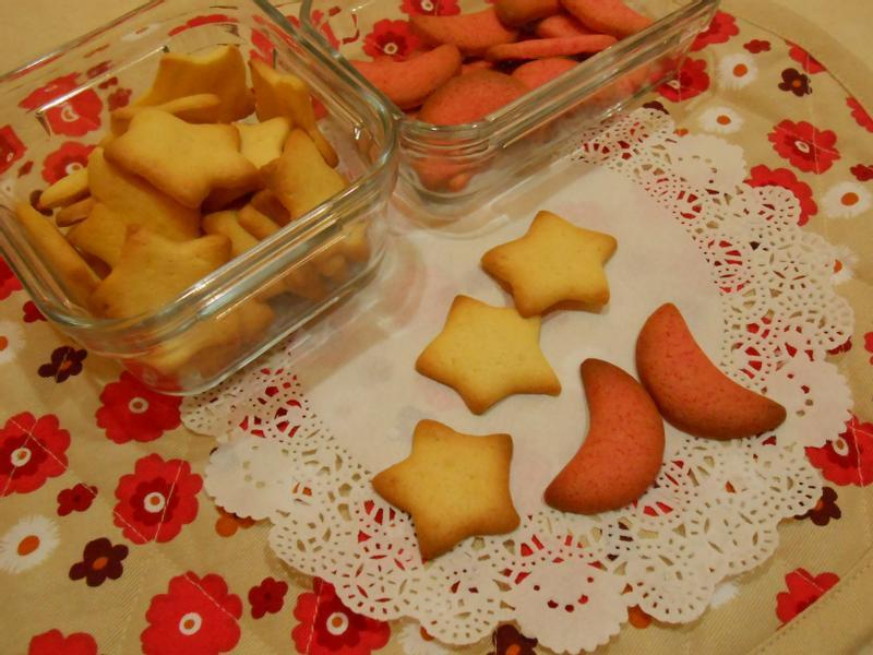 星星月亮の牛奶餅乾