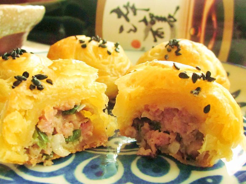 葱肉酥(免揉麵團快速版)