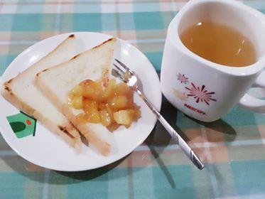 蘋果醬~簡易下午茶!