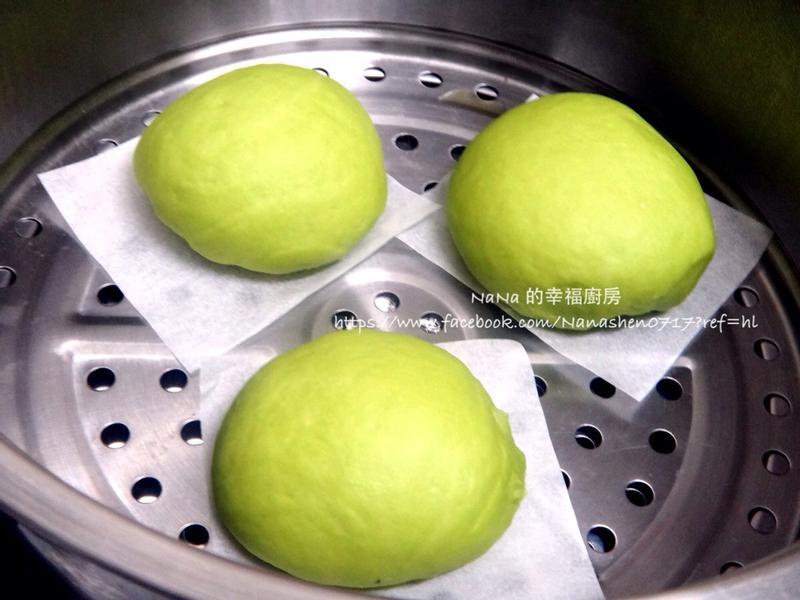 健康原色的【菠菜饅頭】