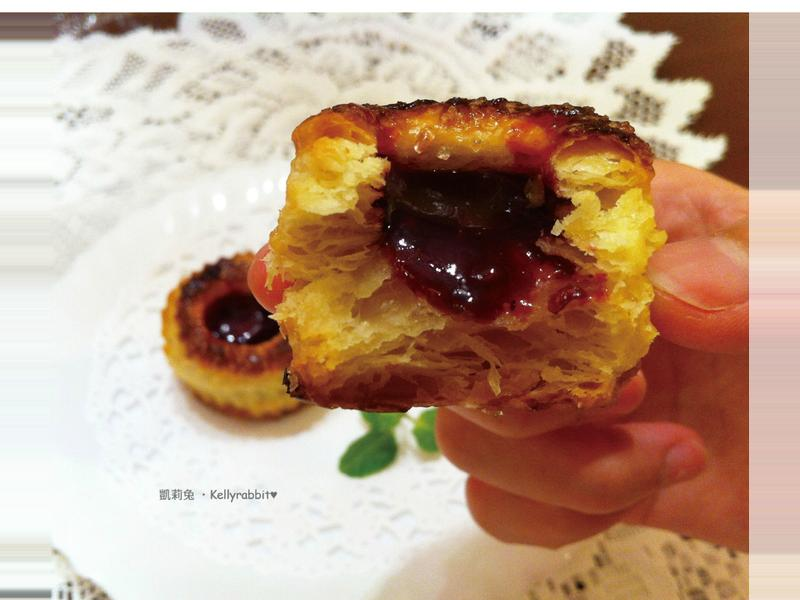 野莓果醬千層派