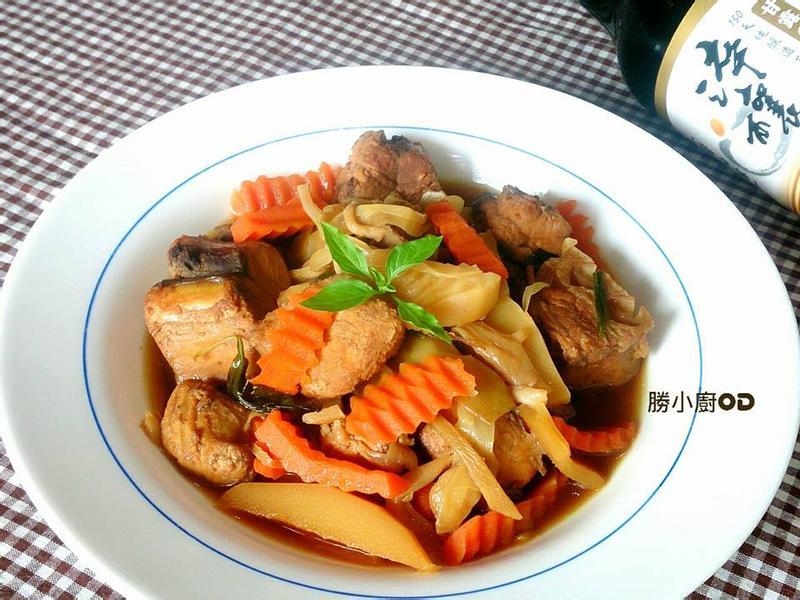 醬燒筍片海底雞【淬釀決勝料理】