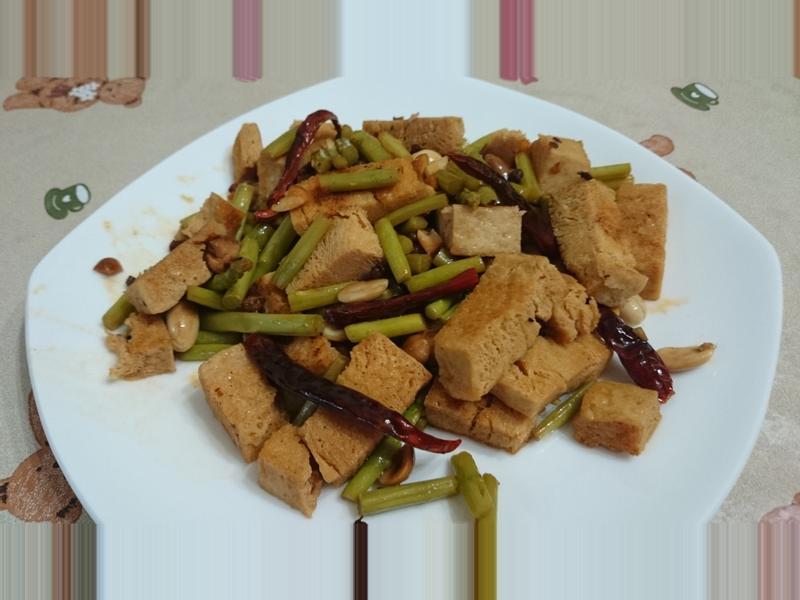 [綜合]宮保凍豆腐