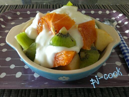 品靚上菜-水果優格