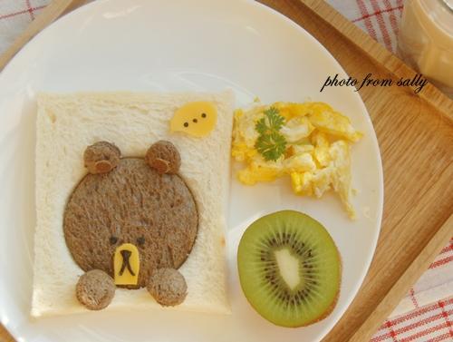 Line小熊土司