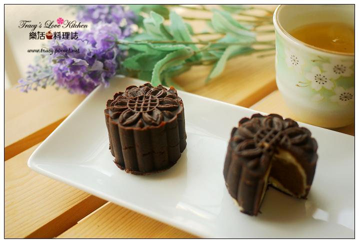 摩卡咖啡焦糖月餅