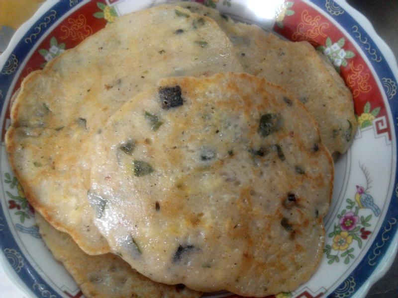海苔昆布燕麥煎餅