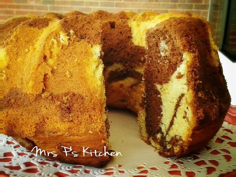大理石蛋糕 [簡單食譜]