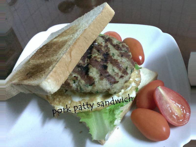 自製豬肉排三明治