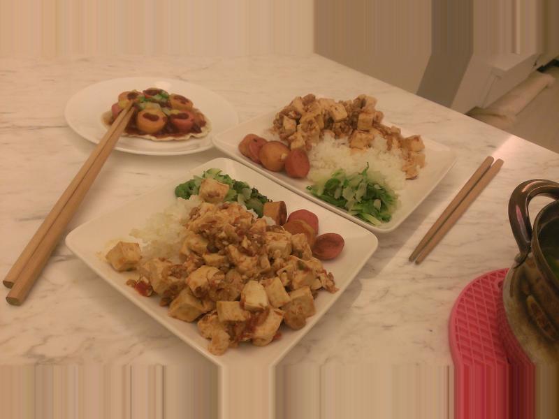 麻婆豆腐❤低調做;)