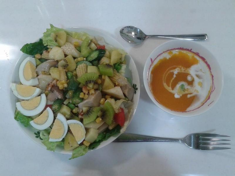 夏日輕盈蔬菜沙拉