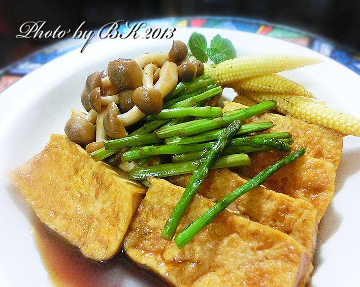 【龜甲萬樂享醍醐味】菇菇燒豆腐