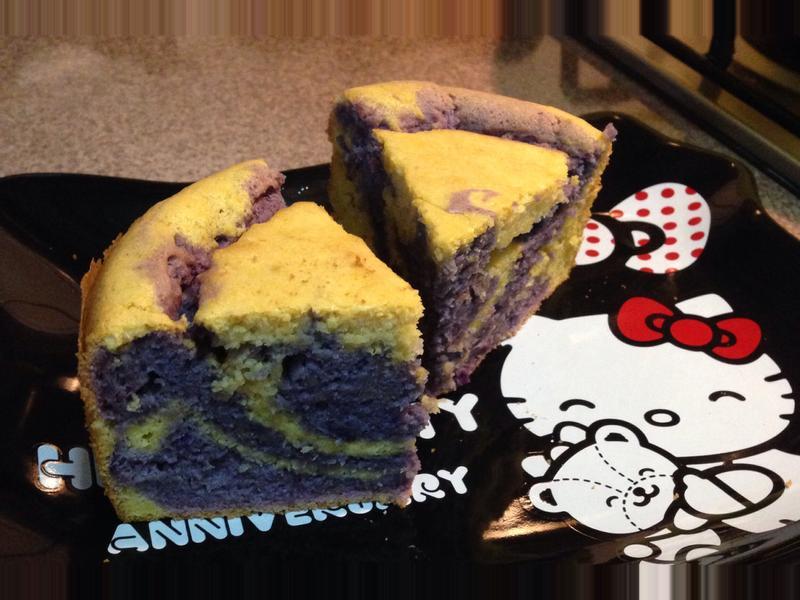 綿綿又密密的地瓜蛋糕