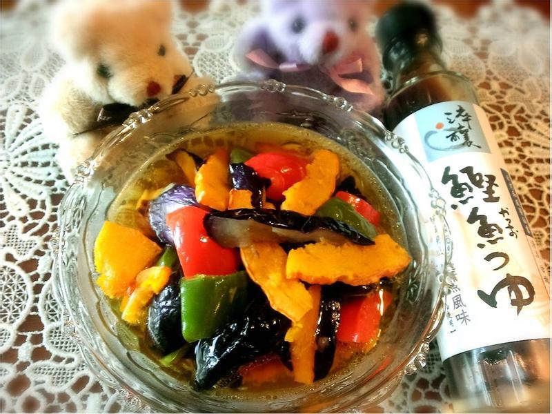夏季野菜輕漬沙拉~淬釀日式下午茶點