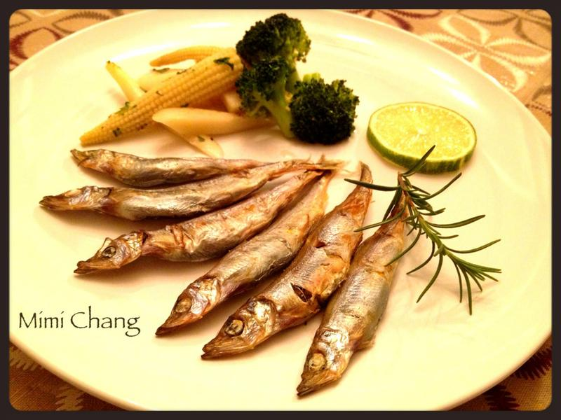 Mimi♥香烤柳葉魚
