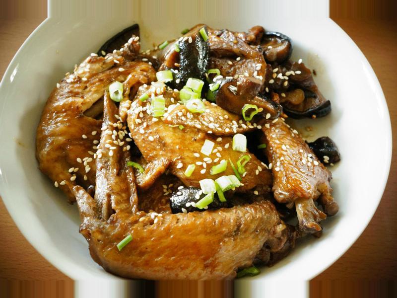 日本料理-和風照煮雞翅