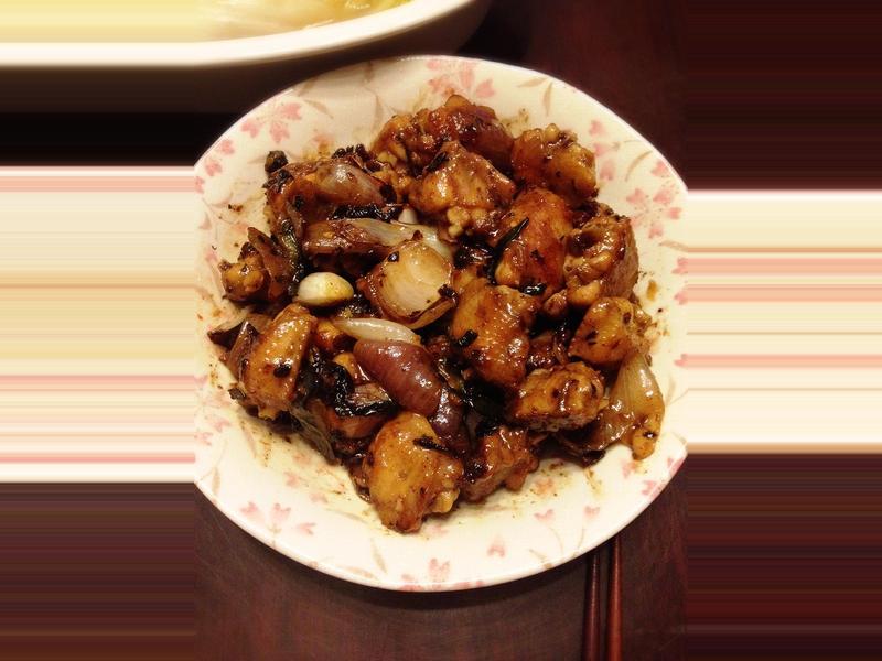 醬爆惹味豆豉雞煲 (非即食醬料版)