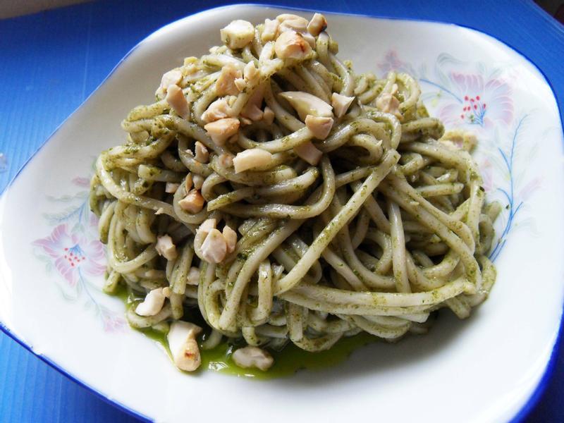 青醬拌麵(純素無奶)