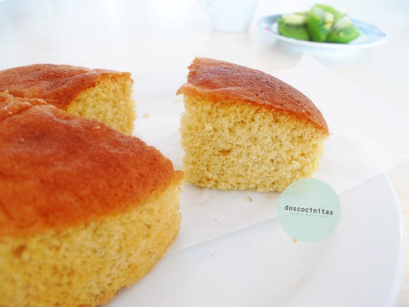 低脂香草海綿蛋糕