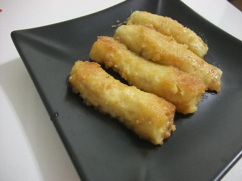 【小雨食堂】煎香蕉