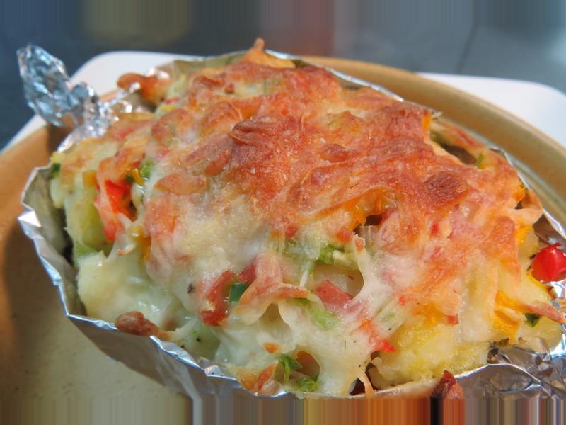 焗馬鈴薯[Panasonic烘燒烤微波爐