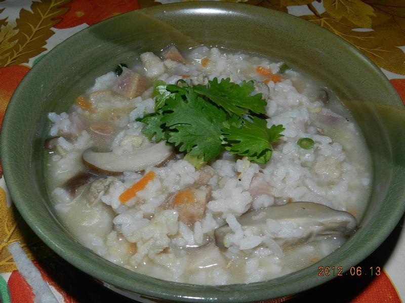 ㄚ曼達的廚房~香芋粥