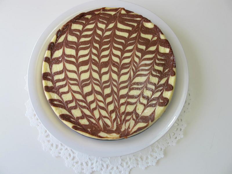 大理石起士蛋糕 { Chocolate cheese cake }