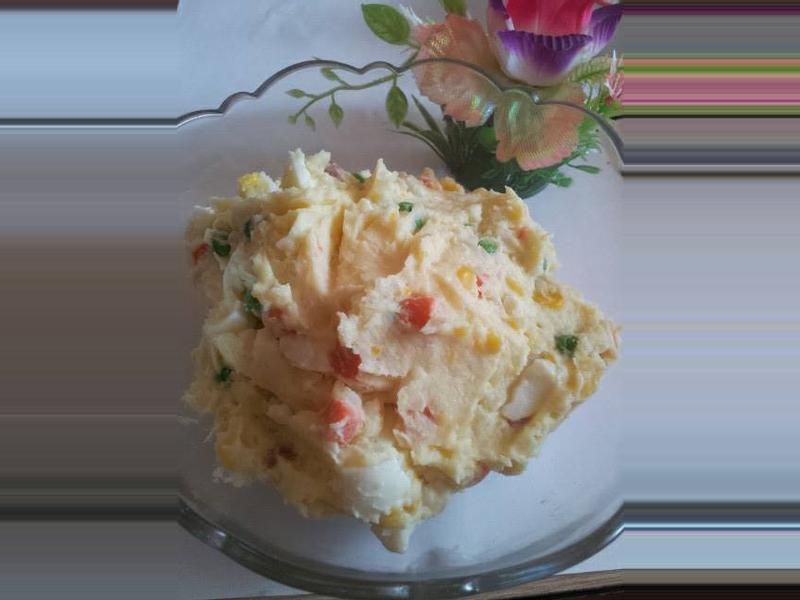 ✲花花家◕‿◕薯泥沙拉✲