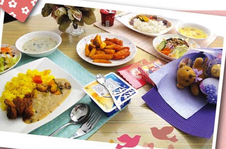 七夕 浪漫的歐式幸福情人節套餐