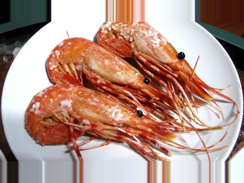 鹽烤牡丹蝦