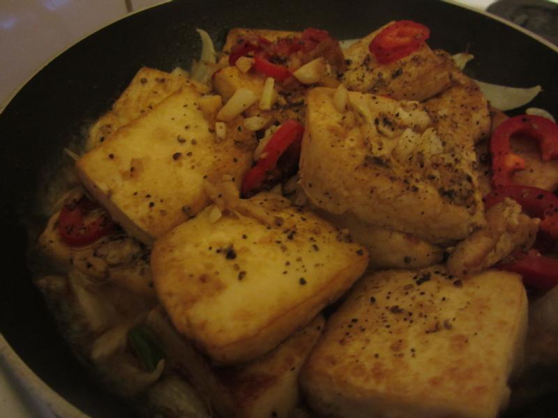 鐵板蛋豆腐